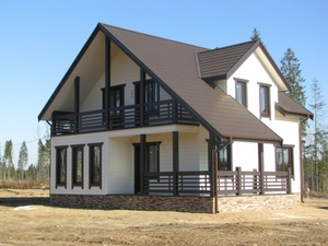 Производство и строительство каркасных домов. Кобрин - Изображение #1, Объявление #1685571
