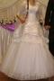 Продам недорого шикарное белоснежное свадебное платье